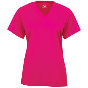 4162 – B-Core Ladies V-Neck Tee