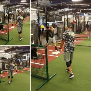 FIBA's team training at our batting cages are looking great!